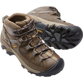 Keen W's Targhee II Mid WP Shoes Slate Black/Flint Stone